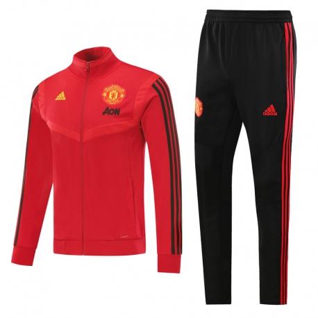 Cпортивные костюмы манчестер юнайтед черный красный 2021 2020