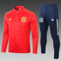 Спортивный костюм испании 2020 2019 красный
