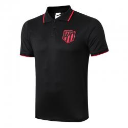 Футболки поло Атлетико Мадрид (Черный/Красная)