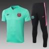 (Минтоловый/Черный) Футбольные костюмы барселоны 2020 2019