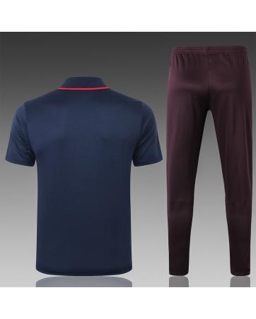 (Темно синий/Красный) Футбольные костюмы барселоны 2020 2019