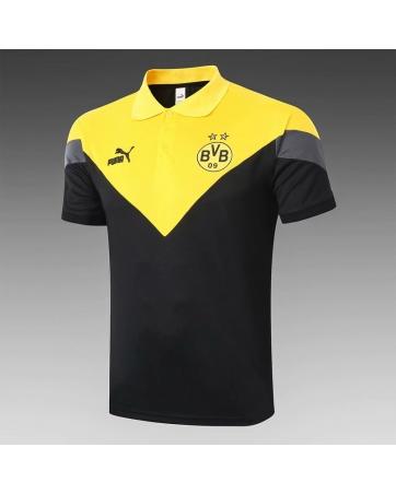 Футболки поло Боруссия Дортумунд (Черный/Желтый)