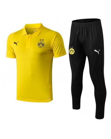 Футбольный костюм боруссия 2021 2020 (Желтый/Черный)