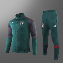 Спортивные костюмы италии italia (Зеленый)