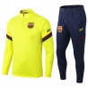 (Желтый) Барселоны тренировочные костюм 2021 2020 border
