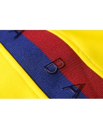 Детские спортивные костюмы барселоны 2020-2021 желтый