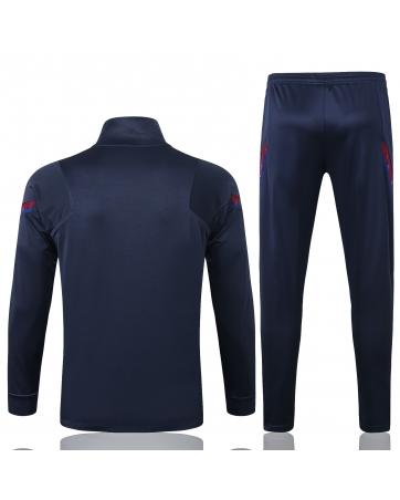 Детские спортивные костюмы барселоны 2020-2021 темно синий