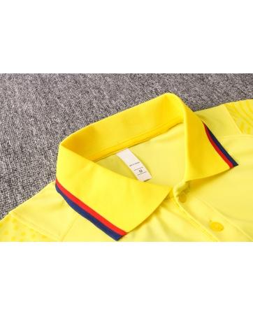 Футболки Поло барселоны 2020 2021 желтый