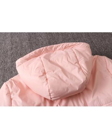 Теплые куртки сборной ЮВентус (Розовый)