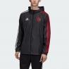 Куртка ветровки манчестер юнайтед 2020 (Черный/Красный)