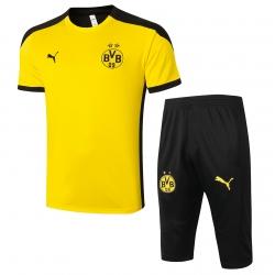 Футбольные комплекты костюмы (Желтый/Черный) Боруссия Дортмунд 2020 2021