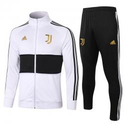 (Белый/Черный) Спортивные костюмы Ювентус 2021 - 2020