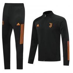 (Черный/Оранжевый) Спортивные костюмы Ювентус 2021 - 2020