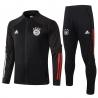 Спортивный костюм бавария детский 2020 2021 черный/красный