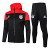 Спортивный костюм бавария детский 2020 2021 Красный/Черный