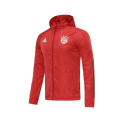 Куртка ветровки Баер мюнчен красный