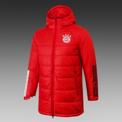 Утепленная куртка баерн мюнчен Красный 2020