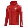 (Красная/Темно синий) Куртка ветровки сборной арсенал лондон