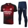 (Бордовый) футбольный костюм фк арсенал лондон 2021 2020