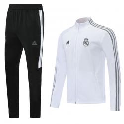 (Белый/Черный) Реал мадрид спортивных костюмов 2021 2020