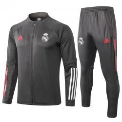 (Темно серый) Реал мадрид спортивных костюмов 2021 2020