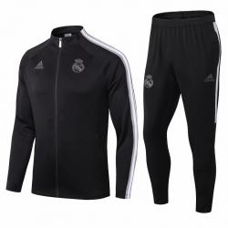 (Черный/Белый) Реал мадрид спортивных костюмов 2021 2020