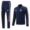 (Темно синий/Серый) реал мадрид cпортивные костюмы 2021 2020 vip