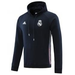 Толстовка свитер (Темно синий) худи Реал мадрид 2018 2019