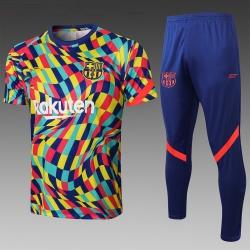 (Желтый/Синий) Футбольные костюмы барселоны 2020 2021