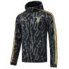 Куртка ветровки ювентус 2021 2022 (Черная/Серая)