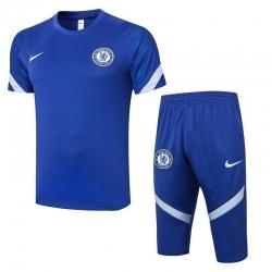 Футбольный костюм (Синий/Белый) челси 2020