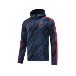 (Темно синий/Красным) Куртка ветровки сборной арсенал лондон