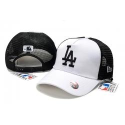 Бейсболки сеткой (Белый/Черный) mlb LA