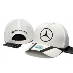 Бейсболки Mercedes Benz (Белый/Черный)