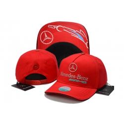Бейсболки Mercedes Benz (Красный/Серый)