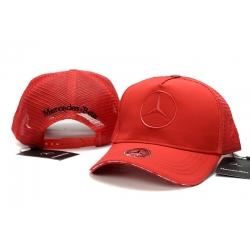 Бейсболки Mercedes Benz (Красный)