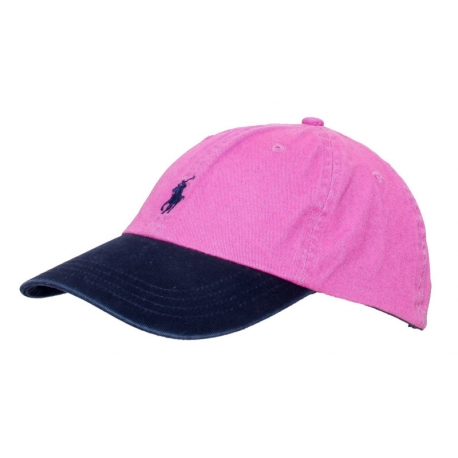 Бейсболка розовые кепки поло ральф лурен