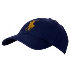 Ralph polo Бейсболки (Темно синий/Золотой)