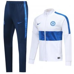 Спортивные костюмы (Белый/Синий) челси 2020 2019