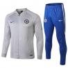 Парадные спортивные костюмы (Синий/Белый) челси border slim
