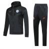 Ветрозащитный футбольный костюм (Черный) челси 2020 2019