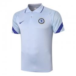 футболка поло (Белый/Синий) челси 2020 2021