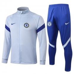 Спортивные костюмы (Белый/Синий) челси 2020 2021