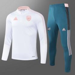 Тренировочные костюмы арсенал 2020 2021 белый/Розовый