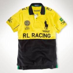 Мужские футболки поло (Желтый/Черный) Brazil Поло ральф лурен 2011 2012