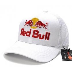 Бейсболки Red bull (Белый/Красный)