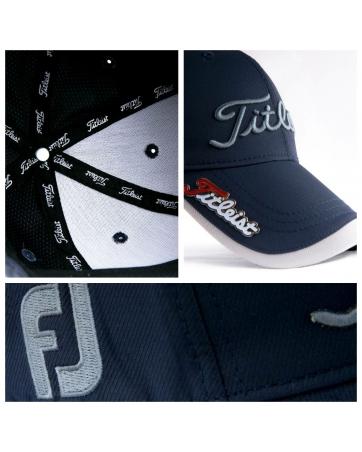 Кепки титлейст гольф (Темно синий/Серый)