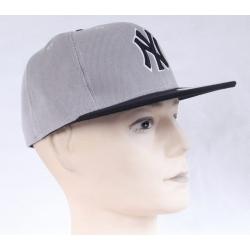 Бейсболка SNAPBACK бейсболка мужская New York Yankees (Серая )