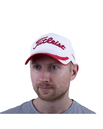 (Белый/Красный) Кепки TITLEIST