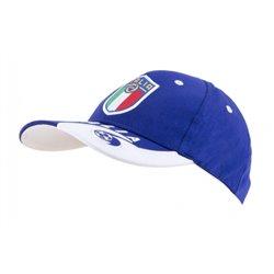 Бейсболки Италии футбольной сборной (Синий/Белый)